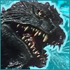 An icon Godzilla from the 2000/Millenium movie